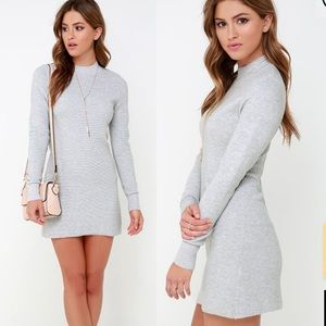 Lulus MinkPink ultimate long sleeve dress